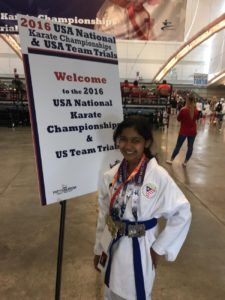 Nisha Balaji with her medals (Photo/submitted)