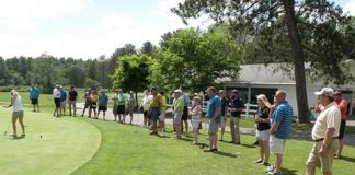 A scene from the 2016 Golf Classic Photo/submitted
