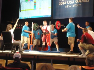 Sam Belinsky competes in the Special Olympics Summer Games (Photo/submitted)