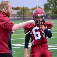 Westborough Ranger's Coach Andrew Smith and Abby Thompson Photos/submitted