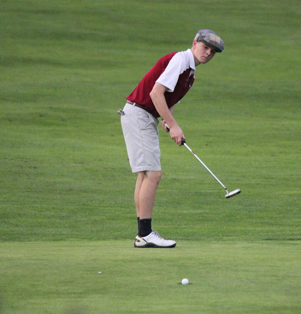 Westborough High School senior and golf team co-captain Kevin Flahive photo/submitted