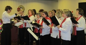 Hundredth Town Chorus will perform a free concert Saturday, May 31 at the Congregation B'sai Shalom in Westborough.  Photo/submitted