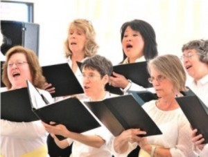 Westborough's Hundredth Town Chorus performs one of its concerts. (Photo/submitted)