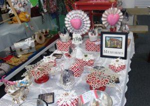 Westborough memorabilia for sale at the store Photo/Bonnie Adams