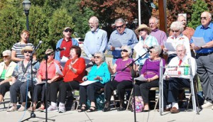 Making their first appearance at Arts in Common are the Southborough Senior Songsters.