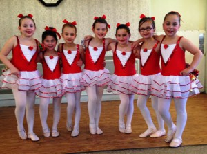 Young dancers from the Laurene Aldorisio Academy of Dance Expressions Photo/submitted