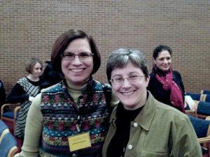 Rabbi Debra Hachen (l) and Rabbi Rachel Gurevitz Photos/courtesy Congregation B'nai Shalom
