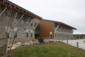 The Richard Cronin Building, the new field headquarters of the Division of Fisheries and Wildlife and the Office of Fishing and Boating Access. (Photo/Alex Cornacchia)