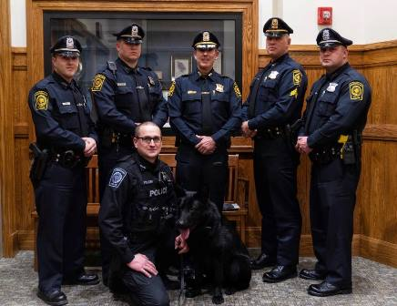 Westborough Police Department introduces new officers