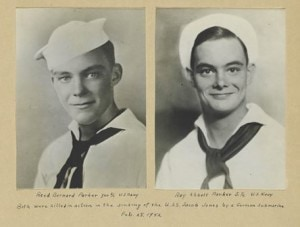 Reed Barnard Parker (l) and Roy Abbott Parker (Photo/courtesy Westborough Public Library)