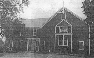 The Original Red Barn Theatre (Photo courtesy/ Westborough Public Library)