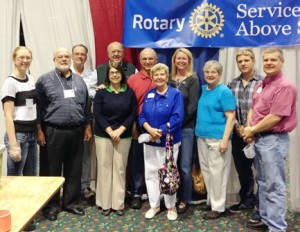Members of the Westborough Rotary Club helped package food for the Stop Hunger Now organization. (Photo/submitted)