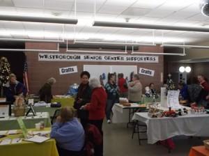 Locals shop at the Senior Center's Holiday Fair.