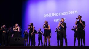 Photo 1: The Nor'easters a cappella group. Photo 2: Sophia Berg is one of two sopranos in The Nor'easters. (Photo/submitted)