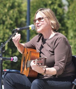 Luanne Crosby sings the first blues song that she wrote as a teen.