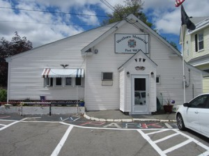 The VFW building, located at 9A Milk St.  Photo/Bonnie Adams
