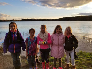 Photo 1: Girl Scouts at Lake Chauncy,Photos/submitted