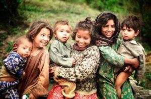 Displaced Kashmiri refugees, Murree, Punjab, 2002 Photo/Sahib Zulfiqar