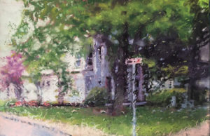 A painting by artist Janet Schwartz, Photo Submitted