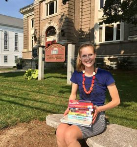 Children's Librarian Hannah Gavalis. Photo Submitted