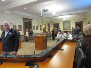 The Board of Selectmen's room