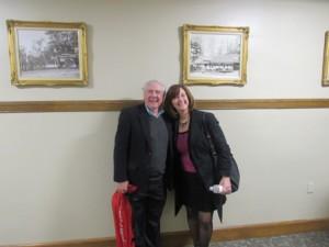 Paul McGrath and Karen Chapman