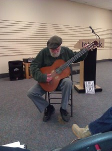 Poet and guitarist Paul Gwiazdowski (Photo/submitted)