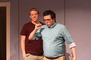 Andy Hamilton (Robert) and Josh Telepman (director)