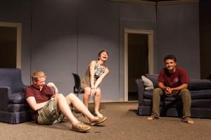 9.Andy Hamilton (Robert), Olivia Murphy (Jenny), and Max Ludwig (David)