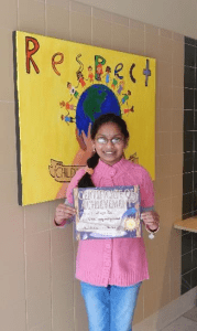 Sixth-grader Shreeya Ravi (Photo/submitted)