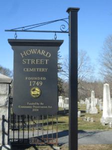 Howard Street Cemetery (Photos/Zenya Molnar)