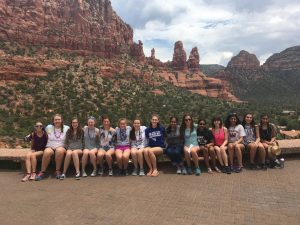 The Girl Scouts of Troop 30633 at the Grand Canyon. (Photo/submitted)